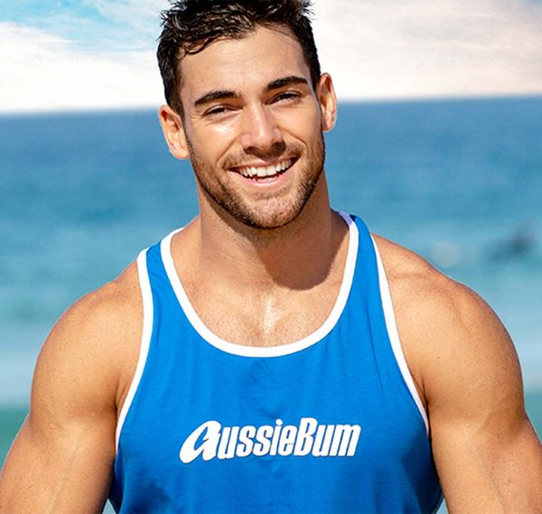 aussieBum Tank Top Original Singlet, royal