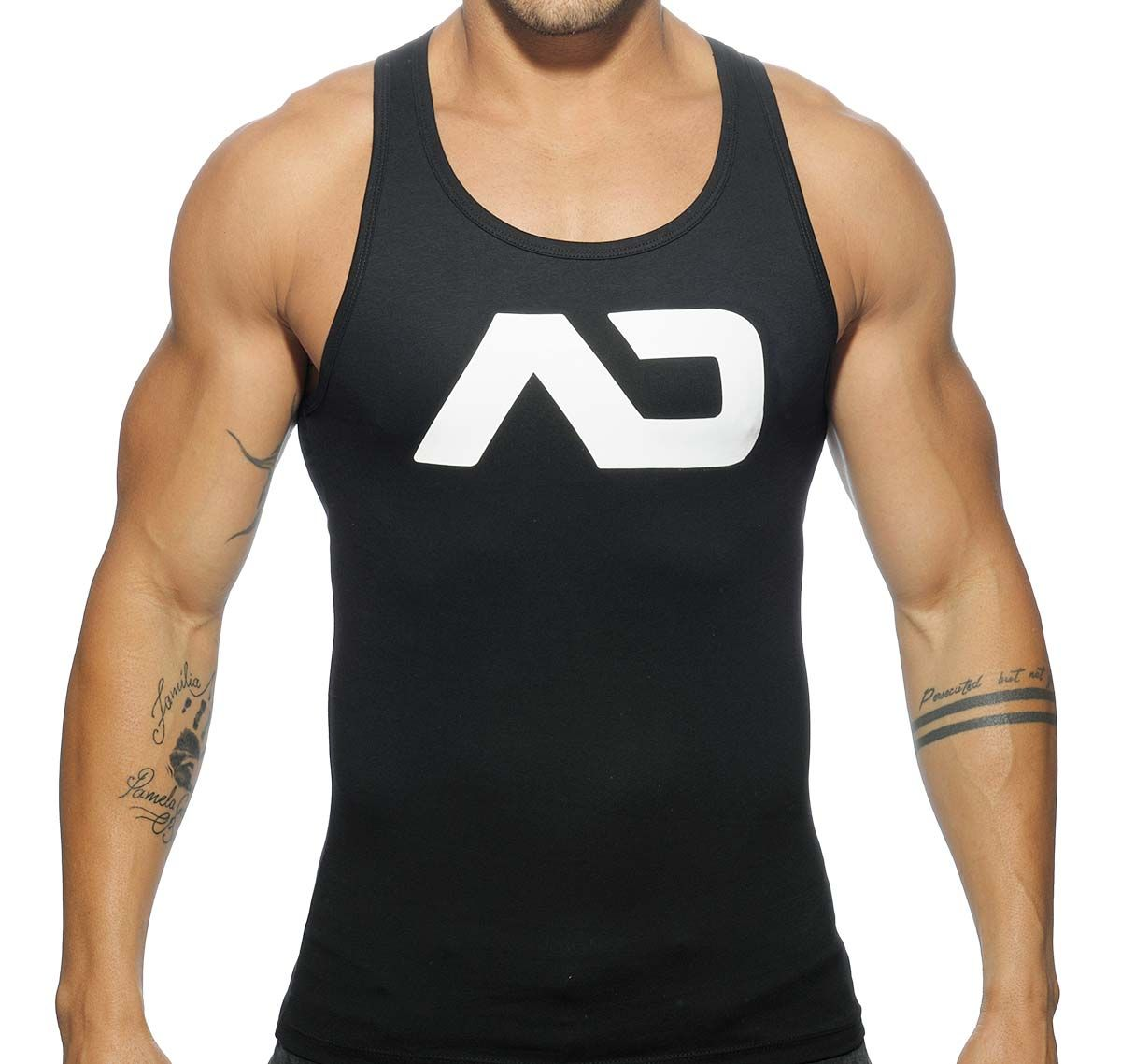 Addicted Sportshirt BASIC AD TANK TOP AD457, schwarz