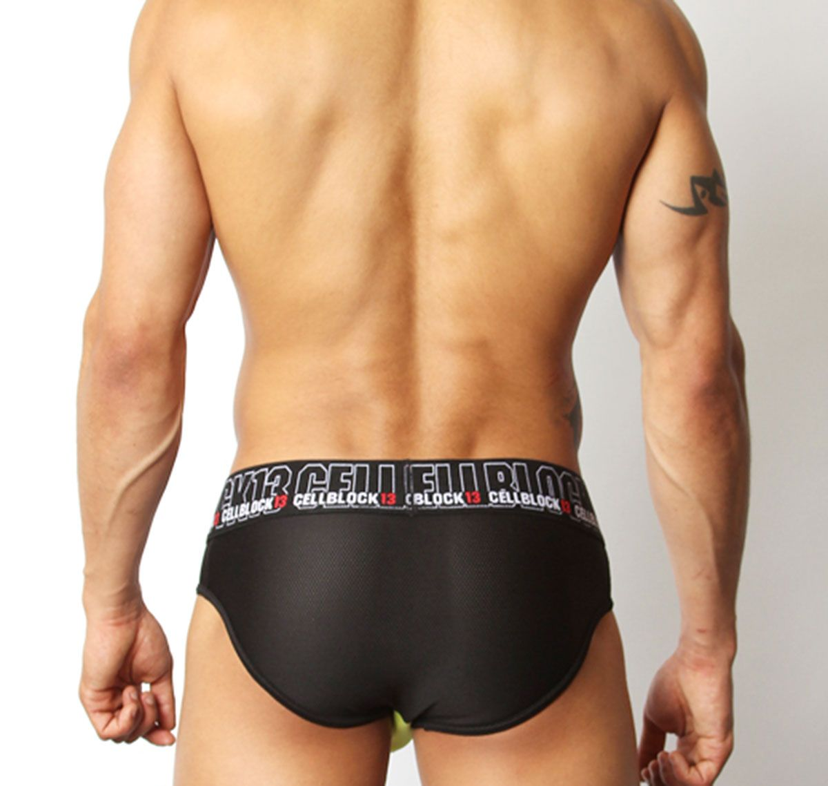 Cellblock 13 Slip BACK ALLEY BRIEF, giallo