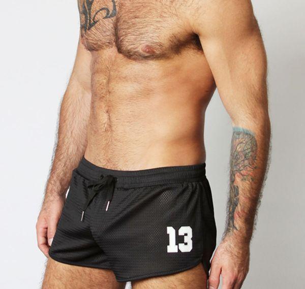 Cellblock 13 kurze Sporthose TAILBACK MESH SHORTS, schwarz