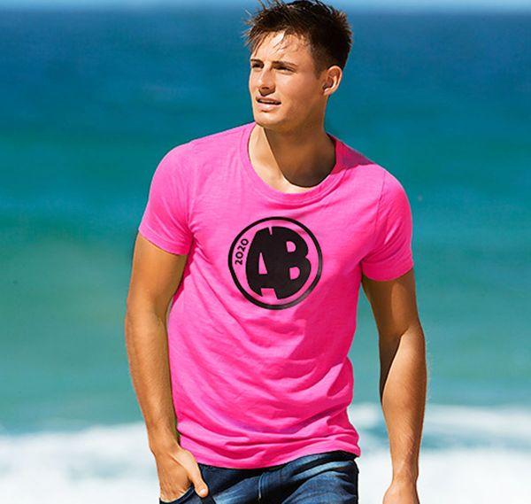 aussieBum T-Shirt DESIGNER TEE AB, pink