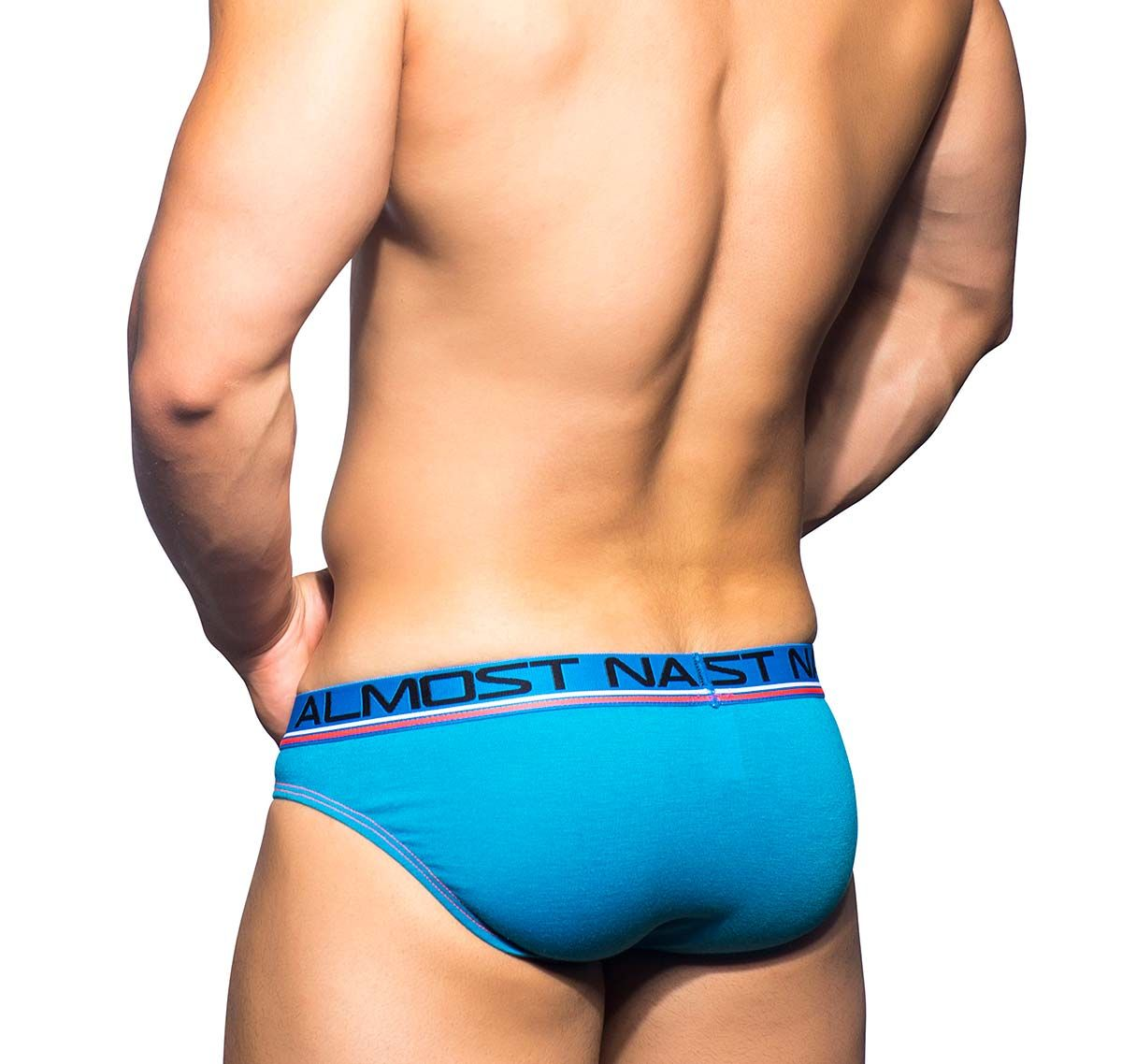 Andrew Christian Slip ALMOST NAKED SPORTS & WORKOUT BRIEF 90376, blau