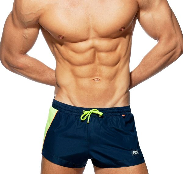 Addicted Badeshorts RACING SIDE SHORT ADS232, navy