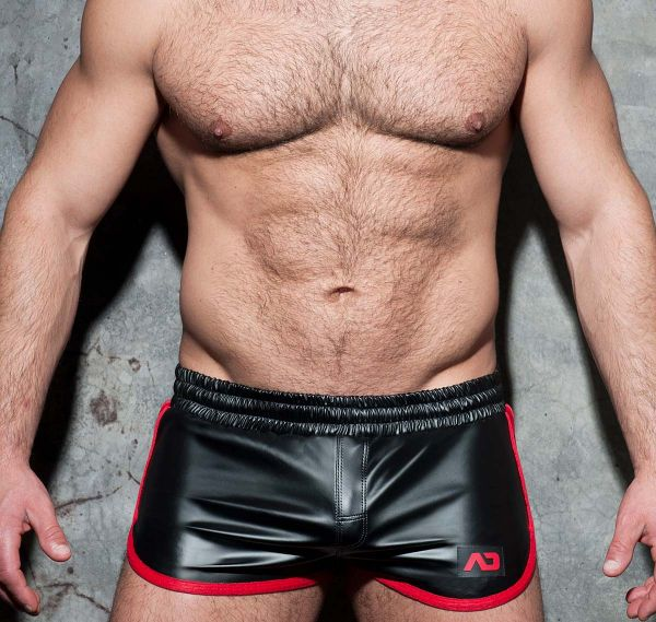 AD FETISH Shorts ROCKY DOUBLE SIDE ADF79, rot