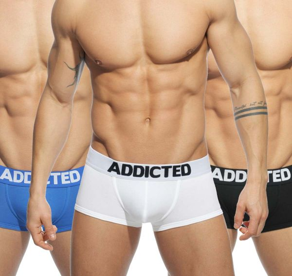 Addicted MY BASIC 3 PACK BOXER AD421P