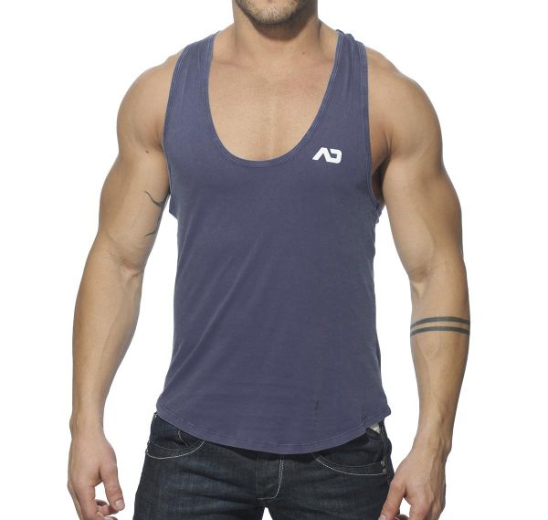 Addicted Tank Top VINTAGE LOW RIDER AD216, navy