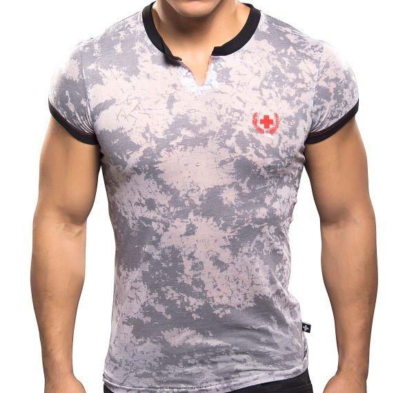 Andrew Christian T-Shirt BURST CLIP TEE 10097, grau