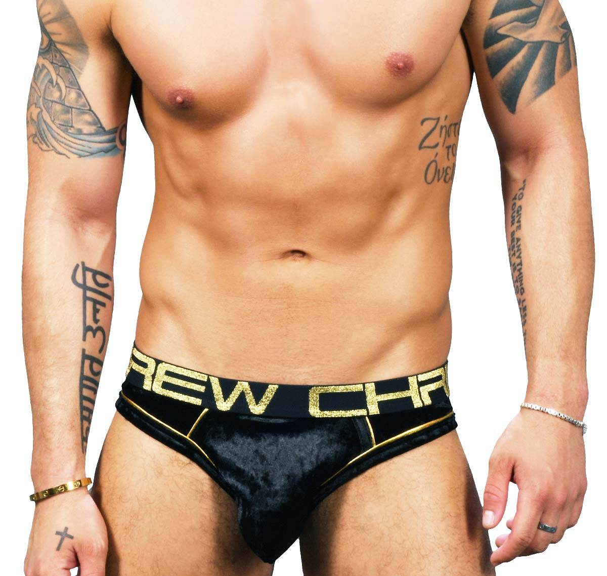 Andrew christian almost naked brief jock for men with larger pouch