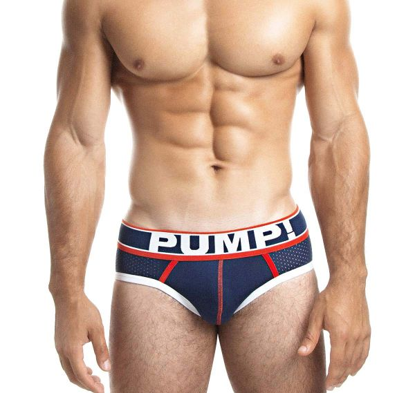 Pump! Herrenslip BIG LEAGUE BRIEF 12033, navyblau