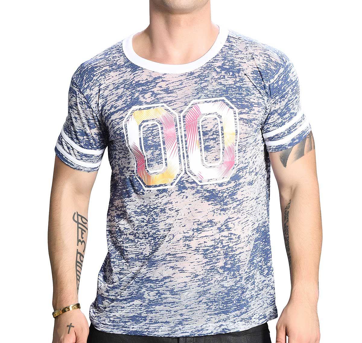 Andrew Christian T-shirt SUMMER TEE 10269, bleu marine