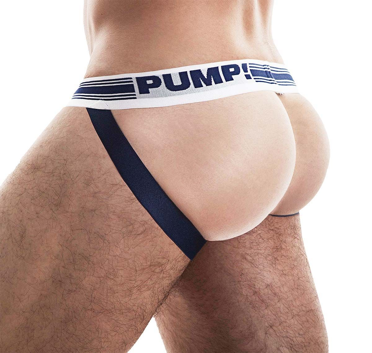 PUMP! Mesh Jockstrap FREE-FIT JOCK 15034, navy