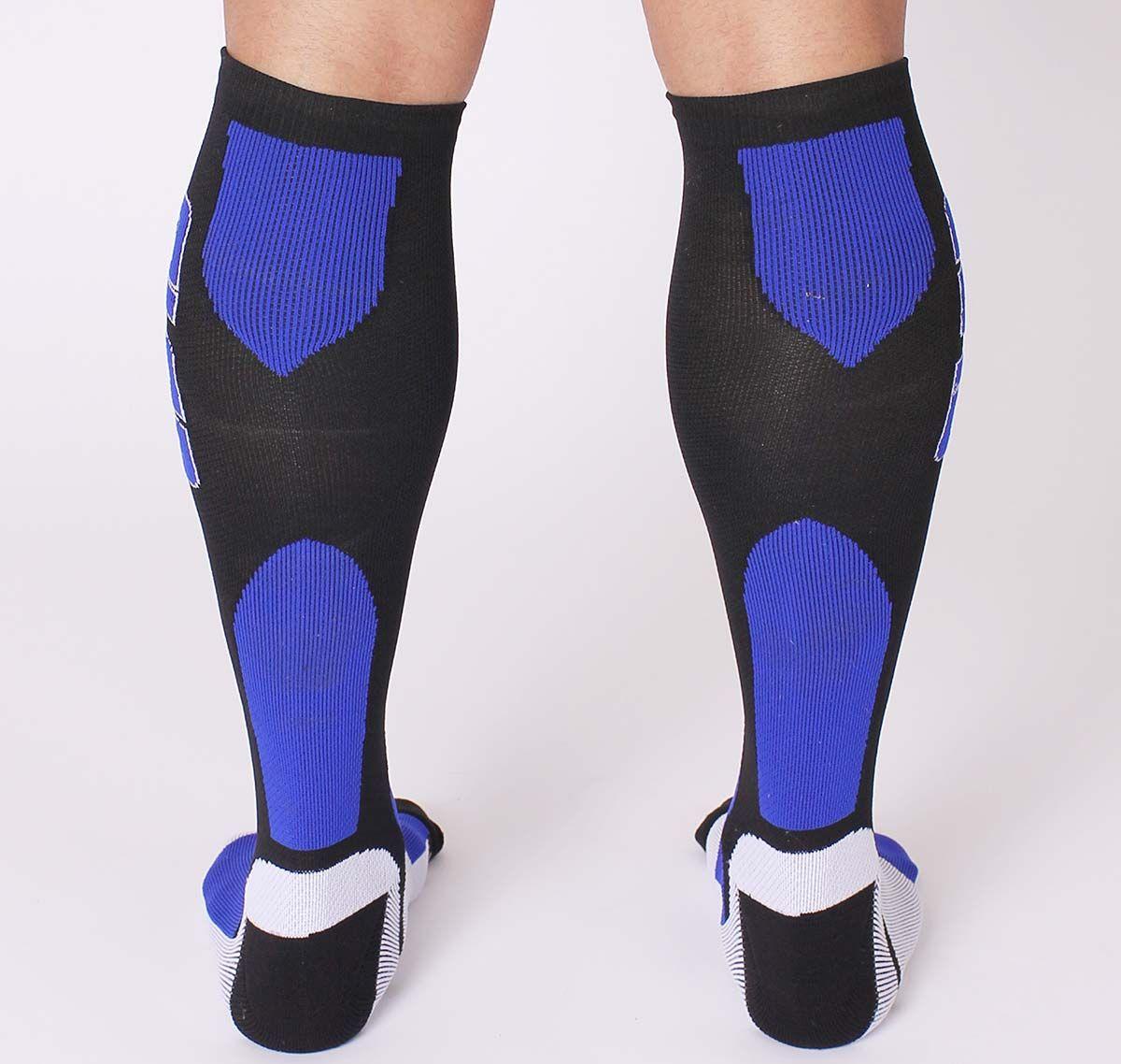 Cellblock 13 Chaussettes de sport ARSENAL KNEE HIGH SOCK, bleu
