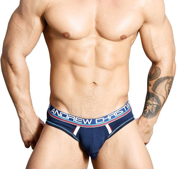 Andrew Christian Jockstrap COOLFLEX MODAL LOCKER ROOM JOCK 91120, navy