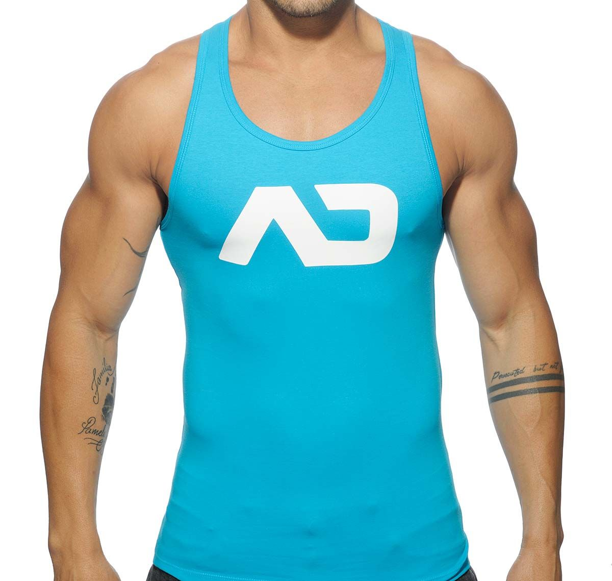 Addicted Sportshirt BASIC AD TANK TOP AD457, türkis
