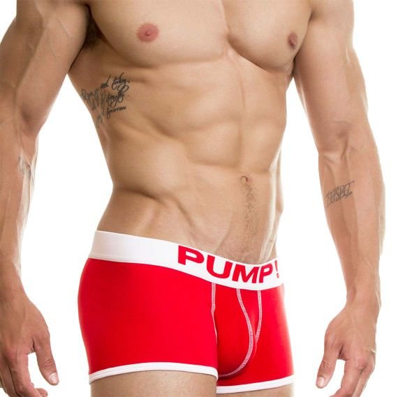 Pump! Boxershorts NEON FUEL 11002-04, rot