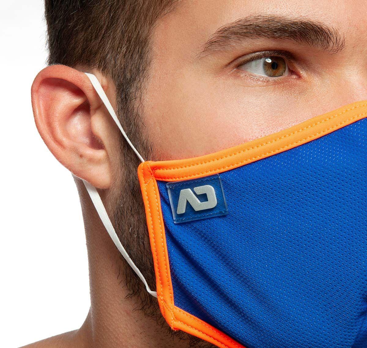 ADDICTED Face mask SPIDER MASK AC106, royalblue