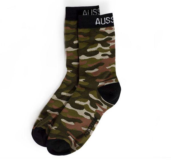 aussieBum Socken CAMO SOCKS, mehrfarbig