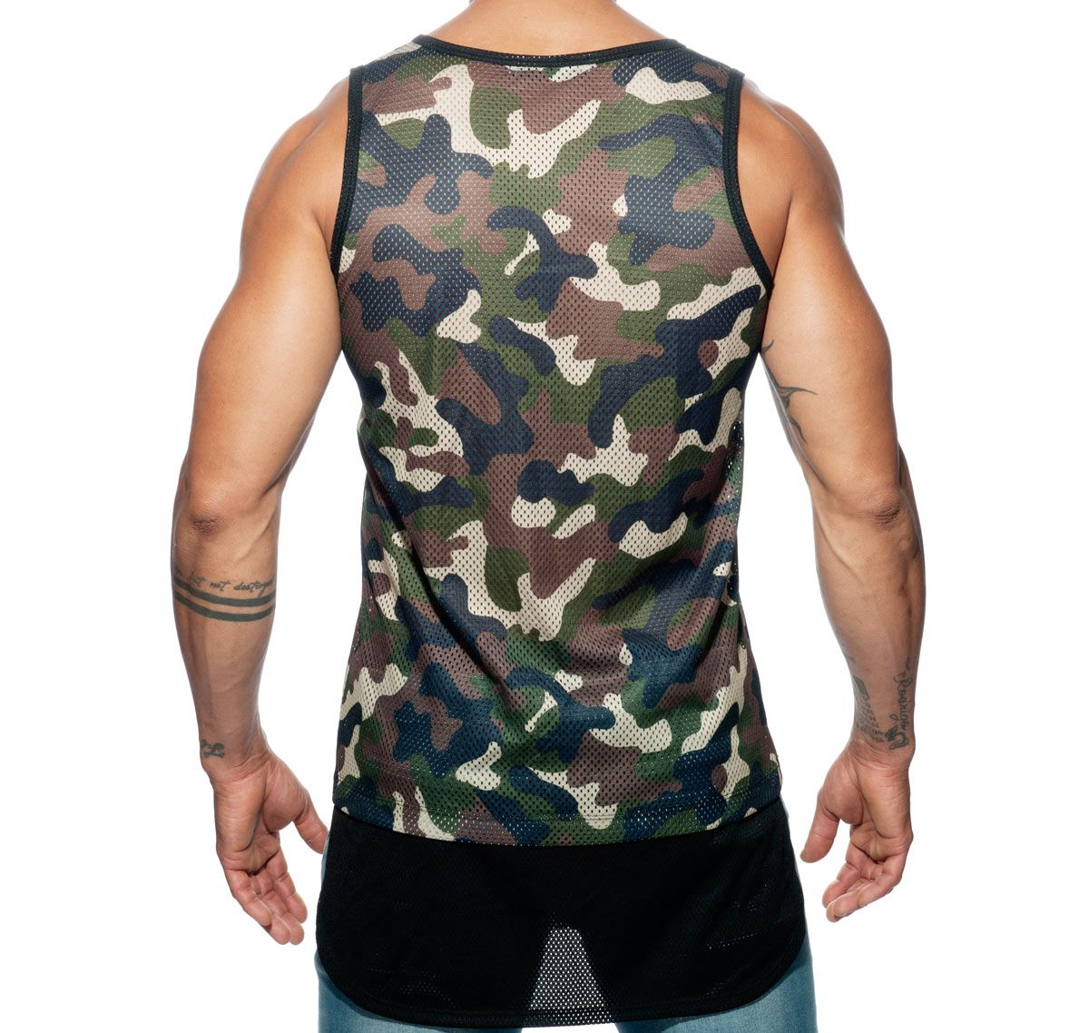 Addicted Sportshirt #ADDICTED#ORGINAL TANK TOP AD634, camouflage