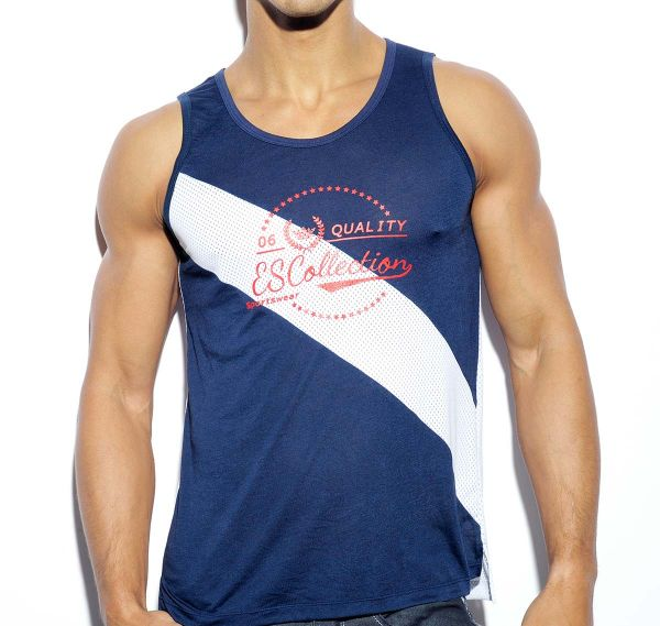 ES Collection QUALITY ES TANK TOP TS177, navy