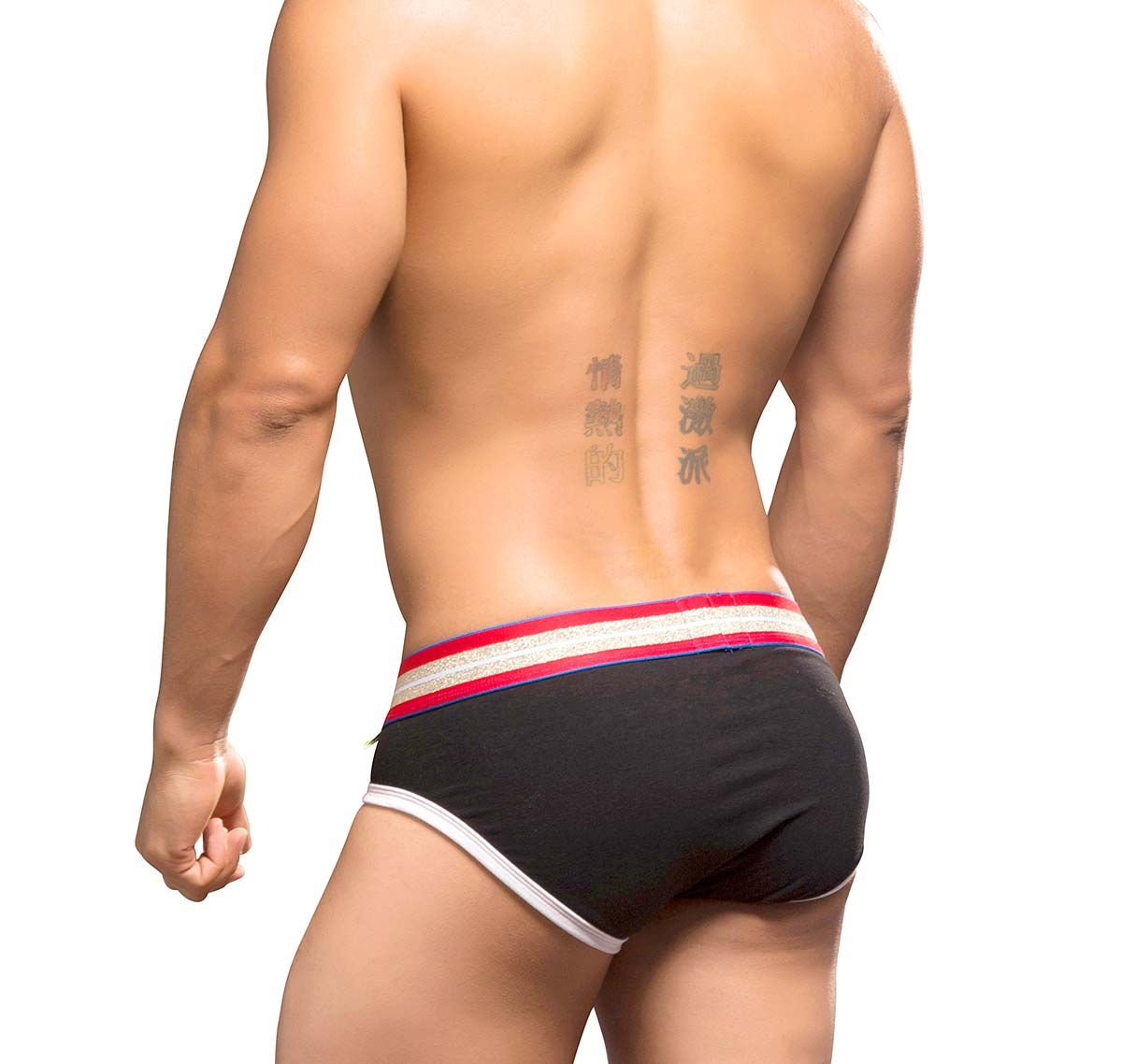 Andrew Christian Slip BLOW! PATRIOT BRIEF 9699, schwarz