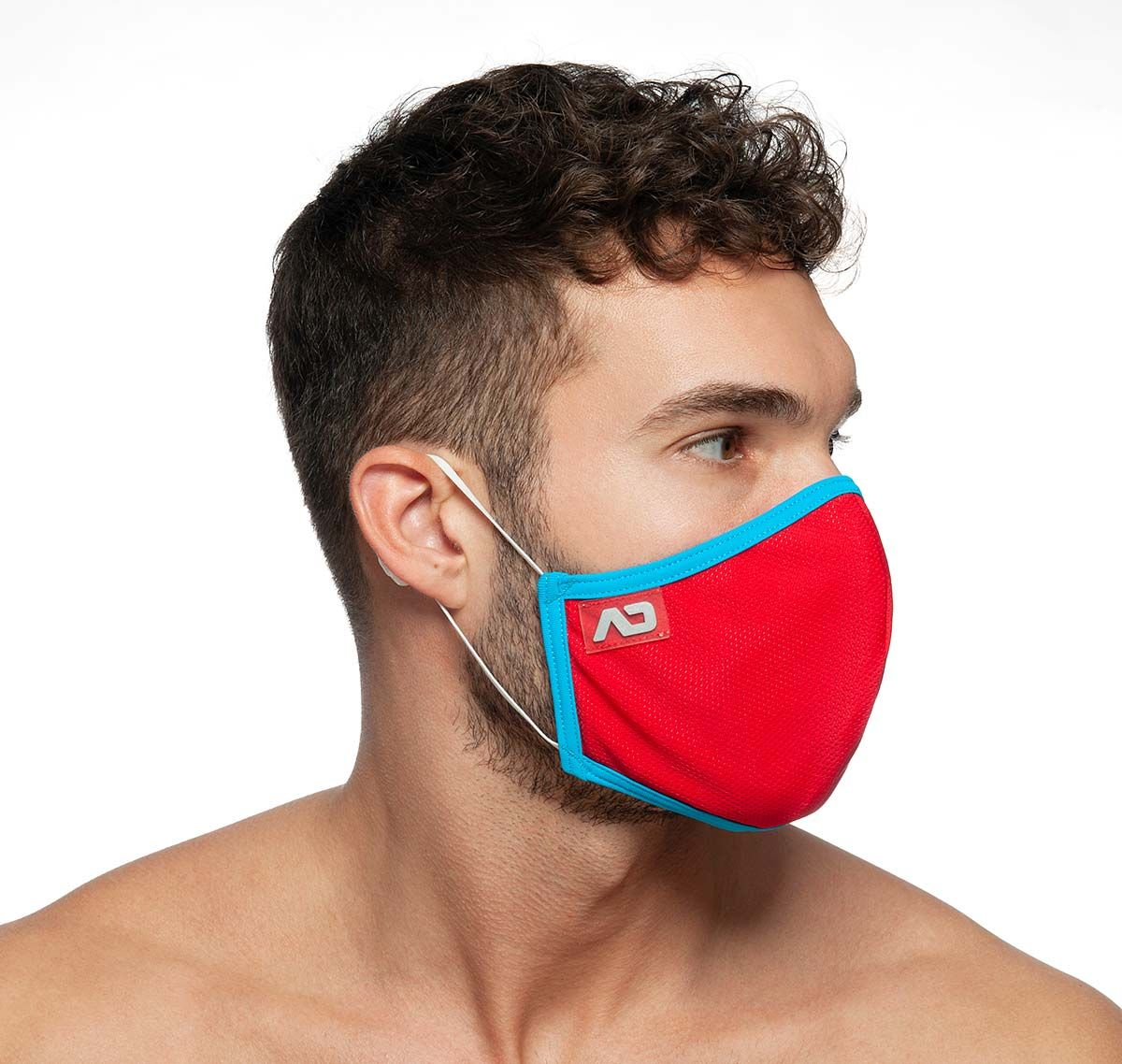 ADDICTED Masque facial SPIDER MASK AC106, rouge