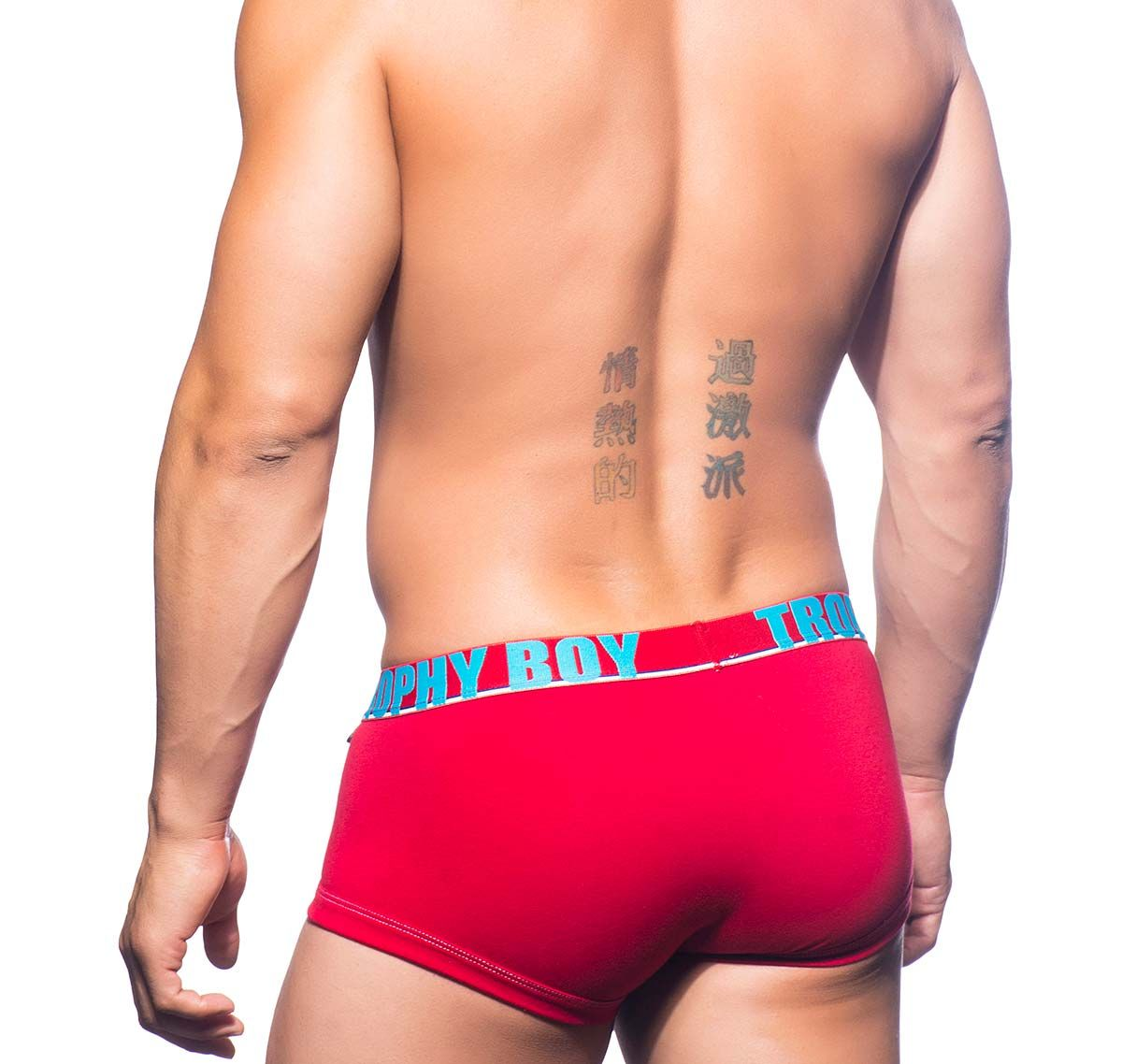 Andrew Christian Boxershorts TROPHY BOY BOXER 90472, rot