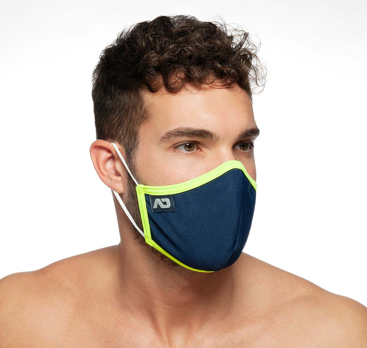 ADDICTED Face mask SPIDER MASK AC106, navy