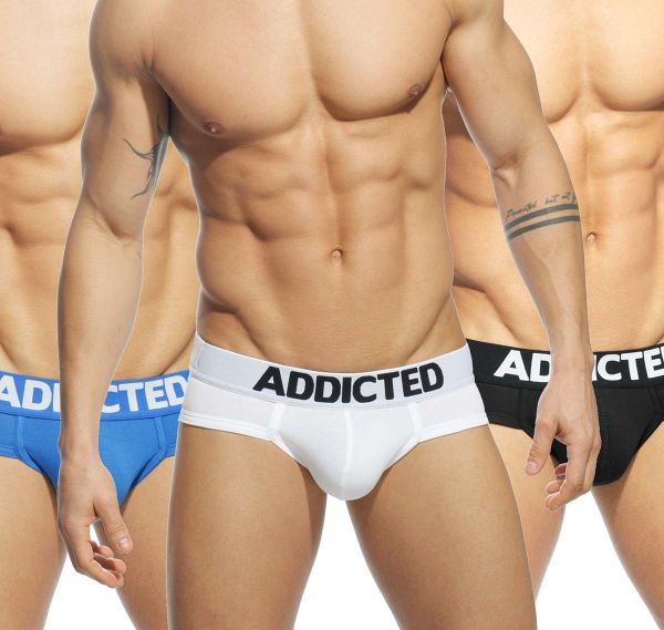 Addicted MY BASIC 3 PACK BRIEF AD420P