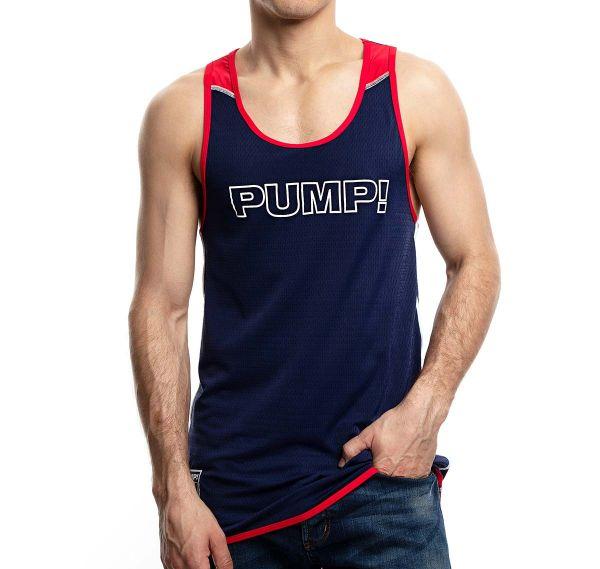 PUMP! Tank Top ACADEMY TANK 14015, navy