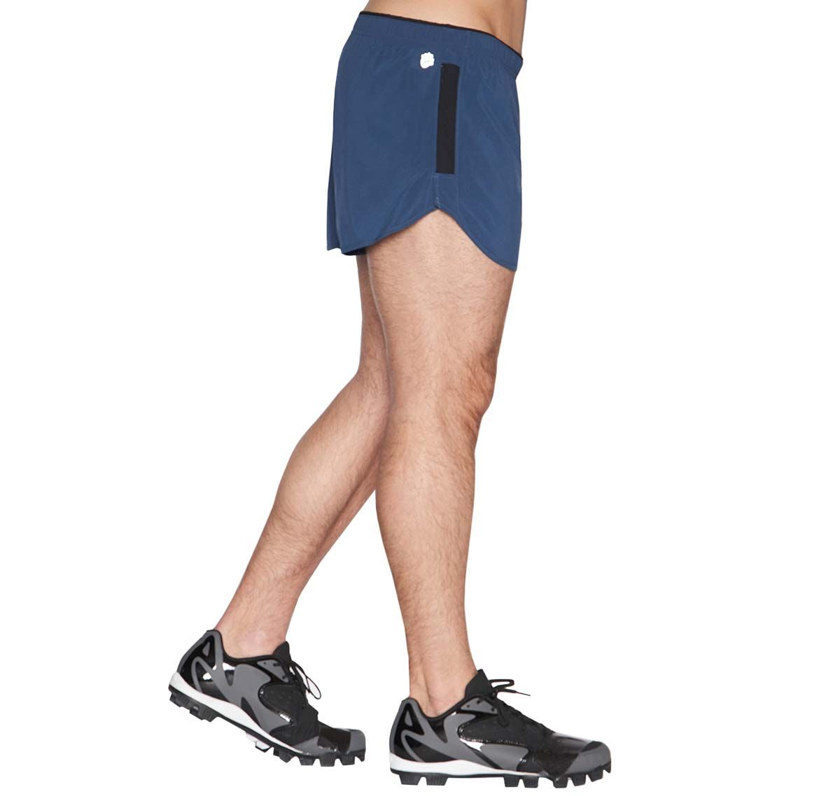 C-IN2 Short de sport GRIP ATHLETHIC RUN SHORT 4965-461, bleu marine
