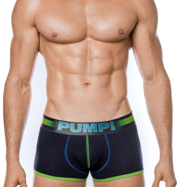 PUMP! Boxershorts PLAY GREEN BOXER 11093, grün