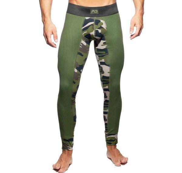 Addicted lange Unterhose CAMO RIB LONG JOHN AD781, camouflage