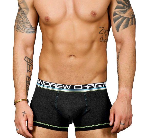 Andrew Christian Boxershorts ALMOST NAKED COTTON BOXER 91214, grau