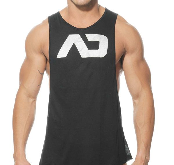 Addicted Tank Top AD LOW RIDER AD043, schwarz