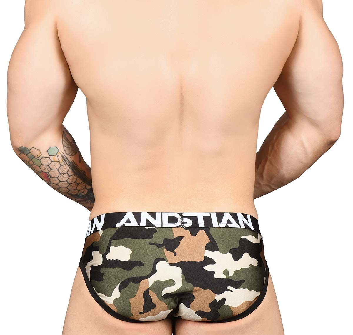 Andrew Christian Slip CAMOUFLAGE BRIEF 91452, camouflage