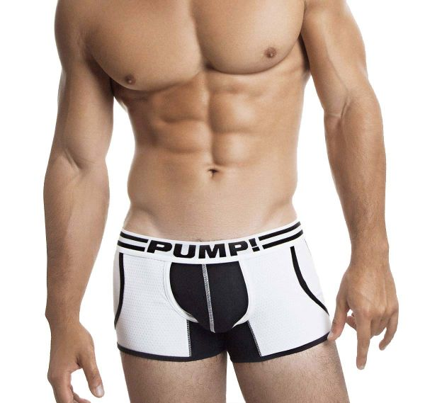 Pump! Boxershorts DROP-KICK JOGGER 11059, weiss