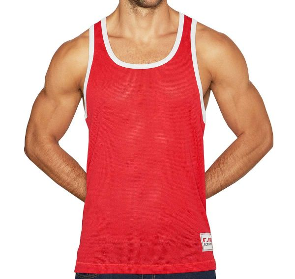 C-IN2 Tank Top SCRIMMAGE RELAXED TANK 6806-615, red
