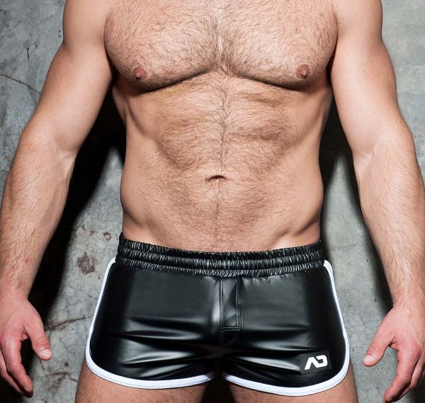 AD FETISH Shorts ROCKY DOUBLE SIDE ADF79, weiß