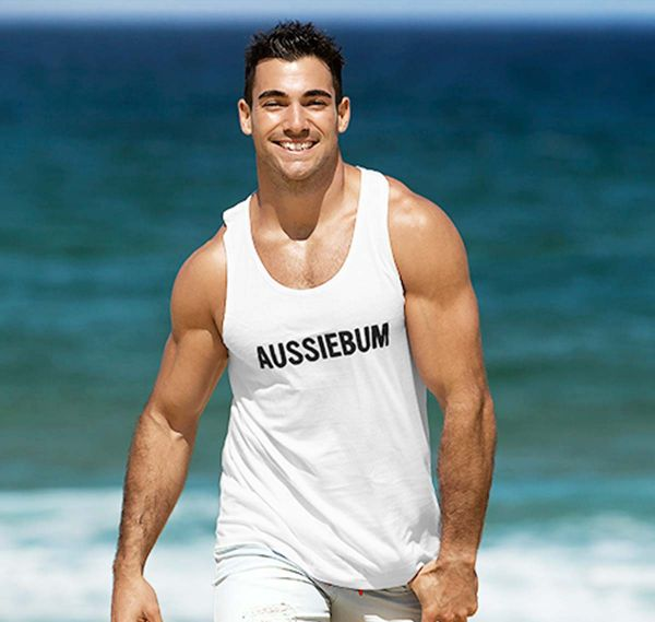aussieBum Tank Top ORIGINAL WORKOUT, weiß
