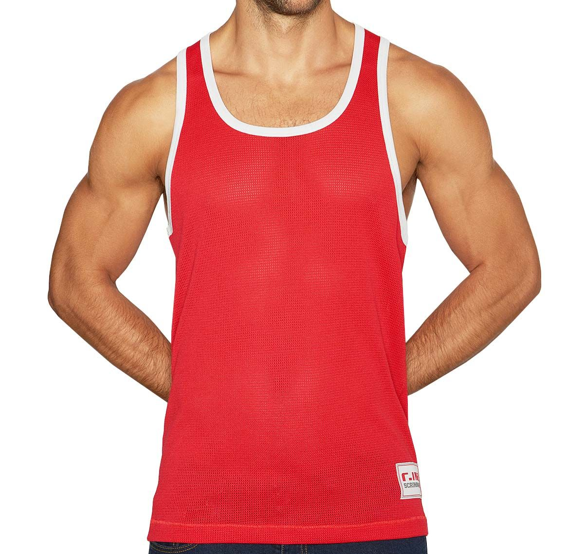 C-IN2 Canotta SCRIMMAGE RELAXED TANK 6806-615, rosso