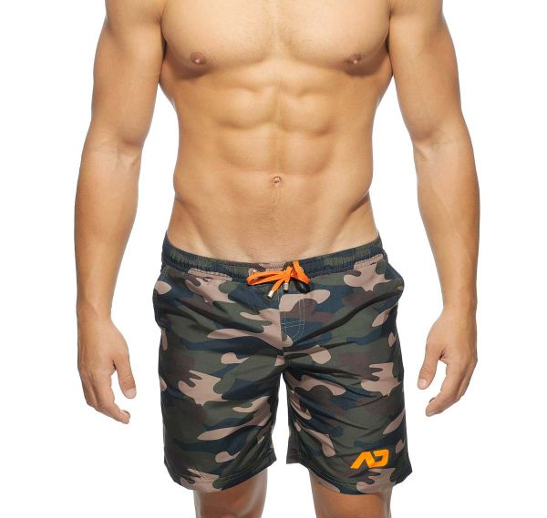 Addicted Badeshorts CAMOUFLAGE SWIM LONG SHORT ADS095