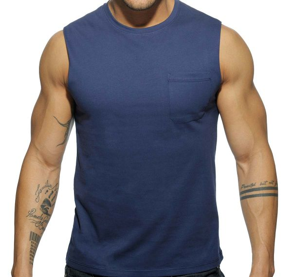 Addicted BASIC TANK TOP AD531, navy