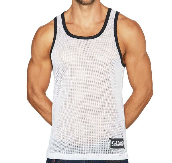 C-IN2 Tank Top SCRIMMAGE RELAXED TANK 6806-115, weiß