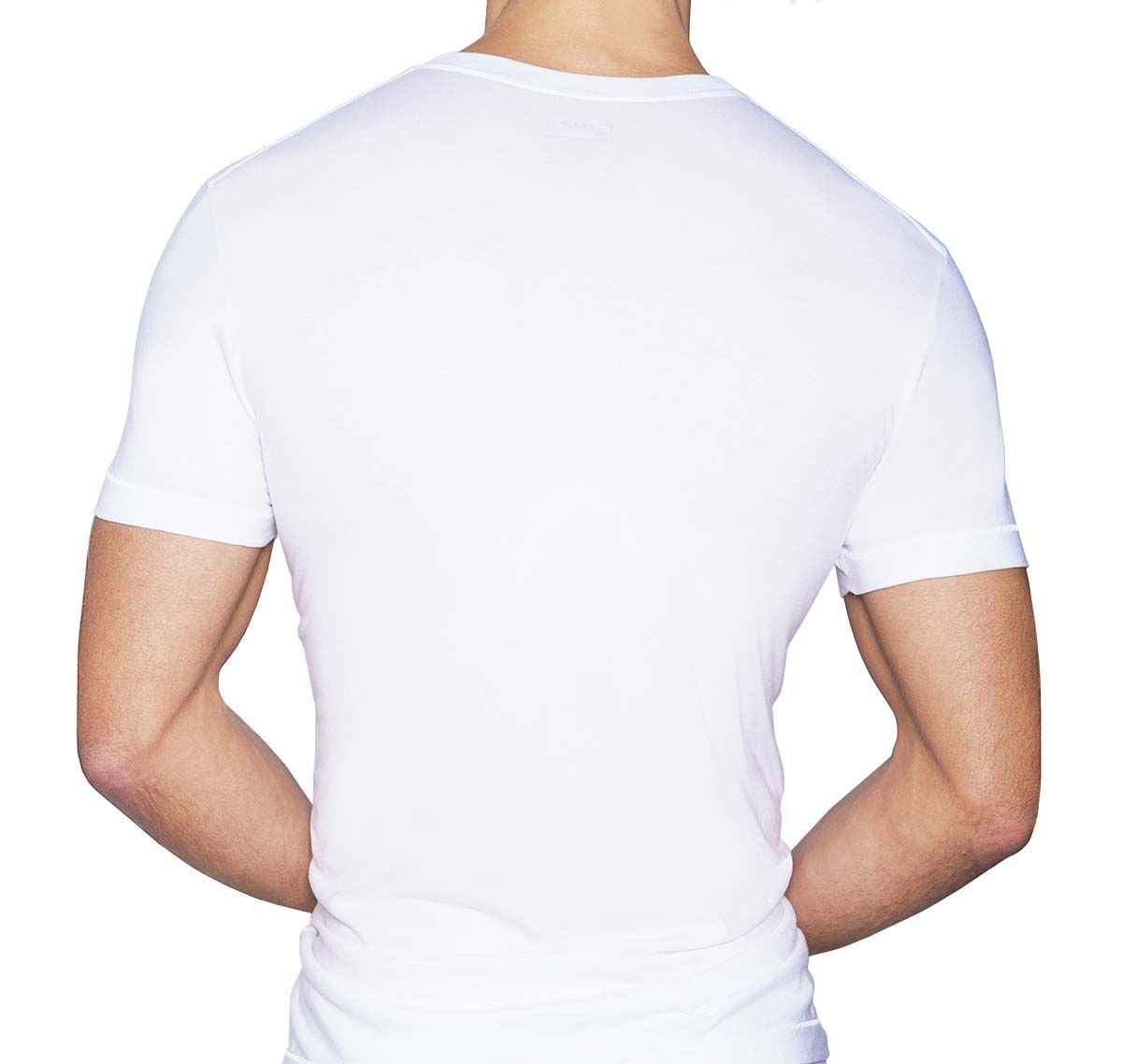 C-IN2 T-Shirt CORE DEEP V-NECK, blanc
