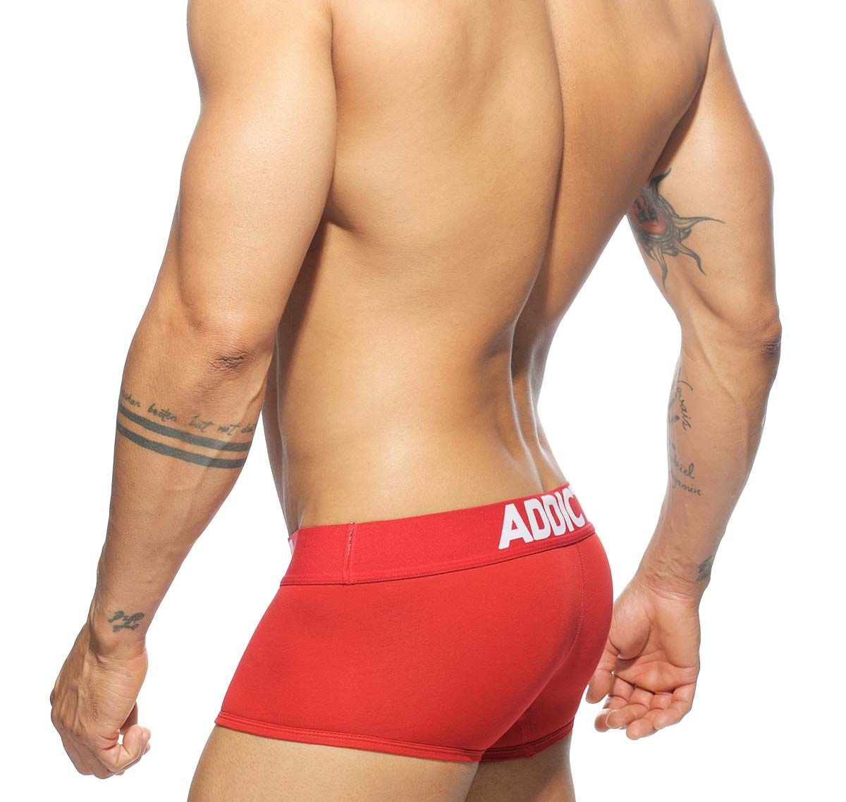 Addicted Boxershorts MY BASIC BOXER AD468, rot