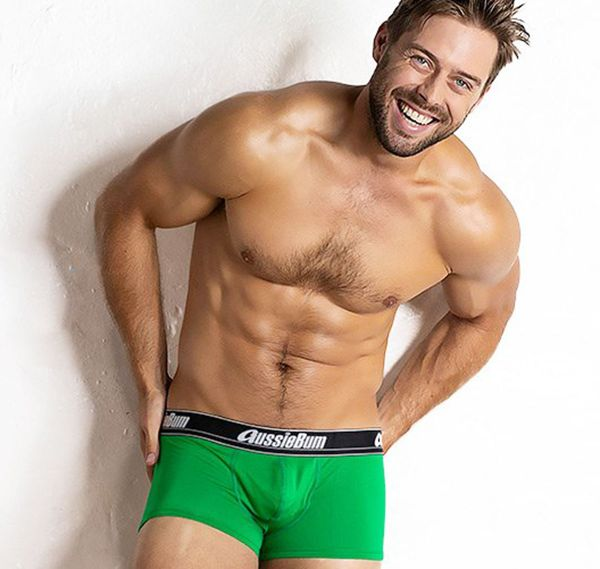 aussieBum Boxers WONDERJOCK AIR, green