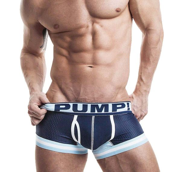 Pump! Boxershorts TOUCHDOWN BLUE STEEL 11051, navy
