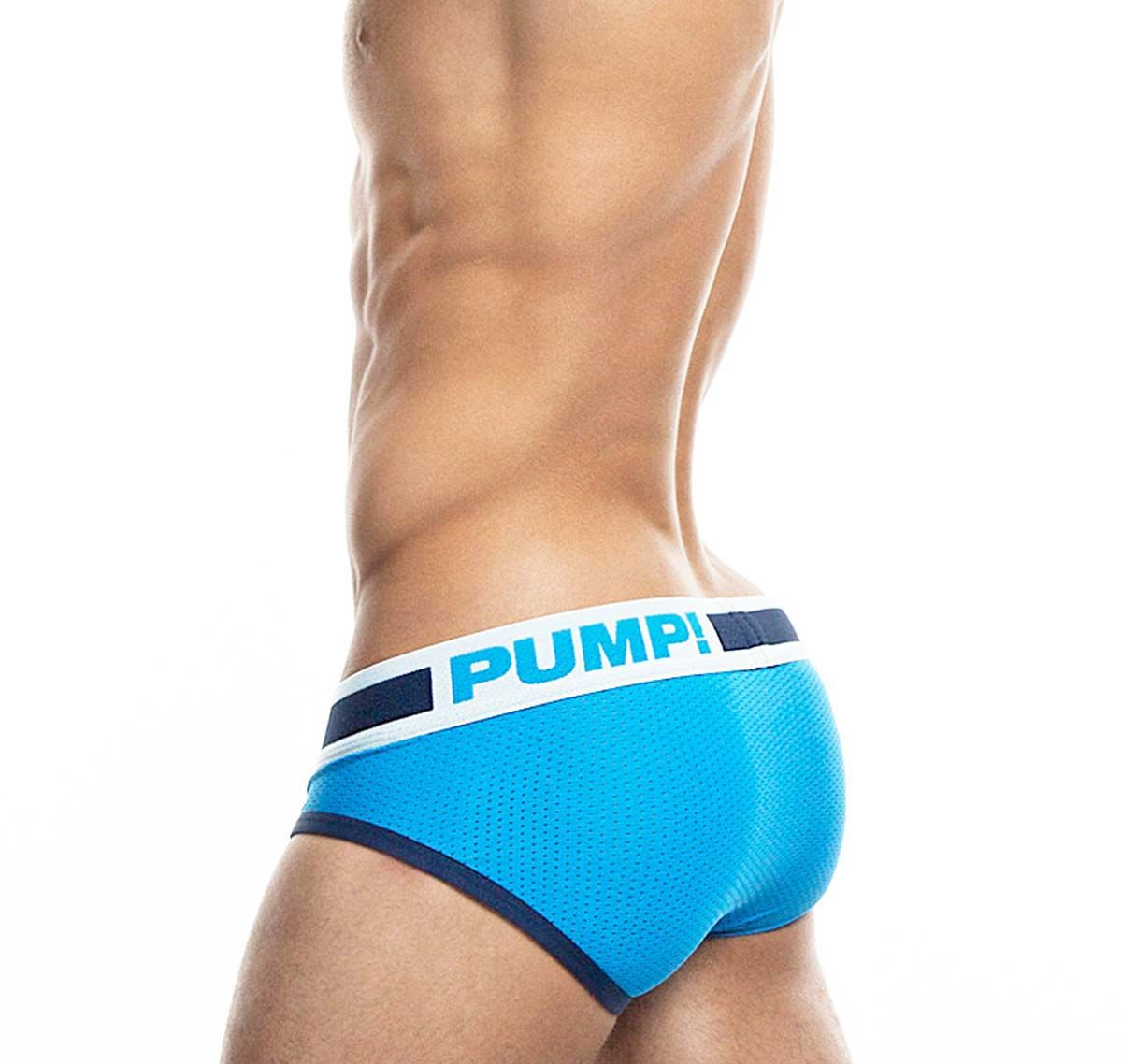 Pump! Slip TRUE BLUE BRIEF 12031, blau
