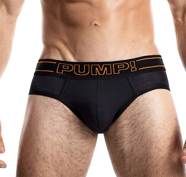 PUMP! Herrenslip NIGHTLIGHT BRIEF 12050, schwarz