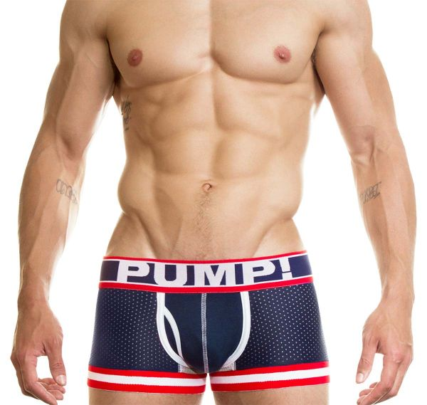 PUMP! Boxershorts BIG LEAGUE BOXER 11040, navyblau
